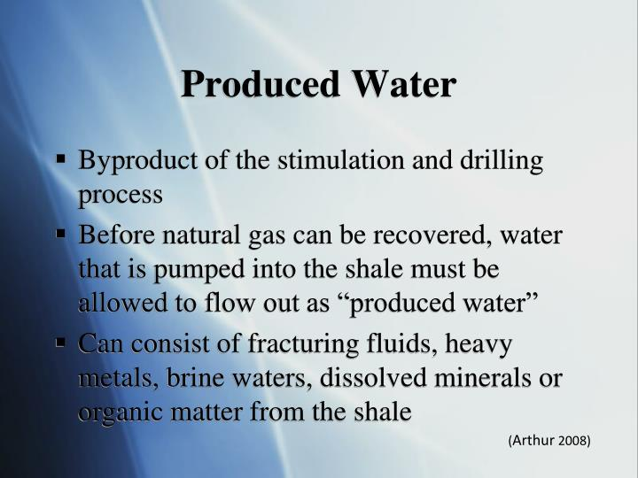Produced Water
