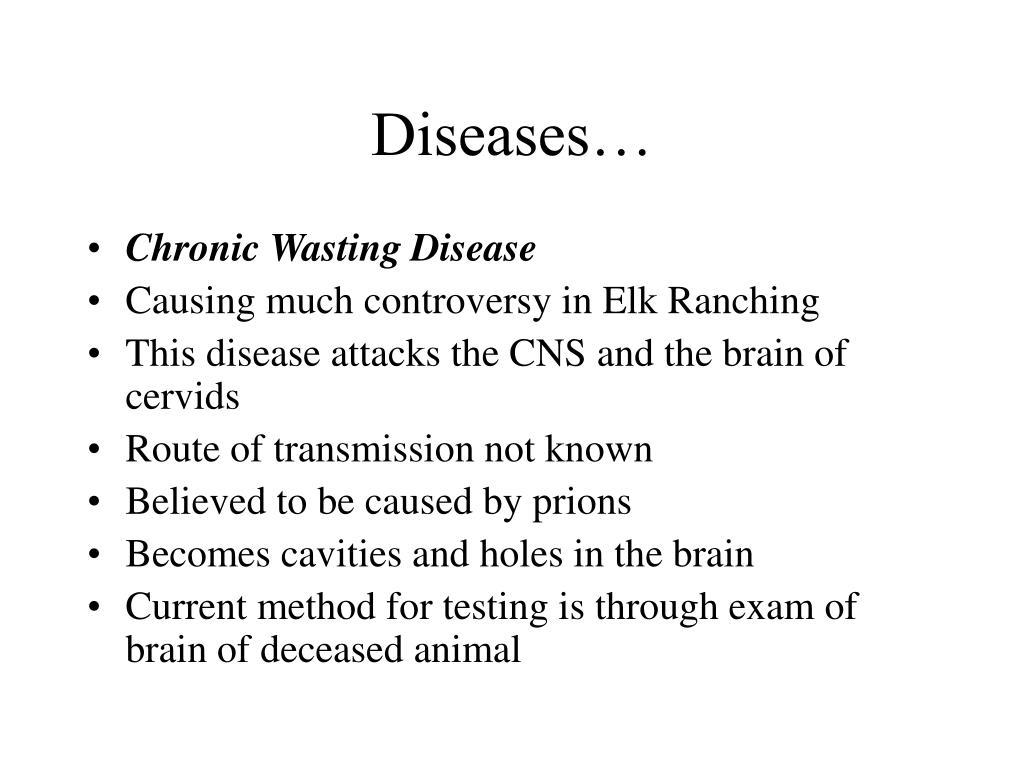 Diseases…