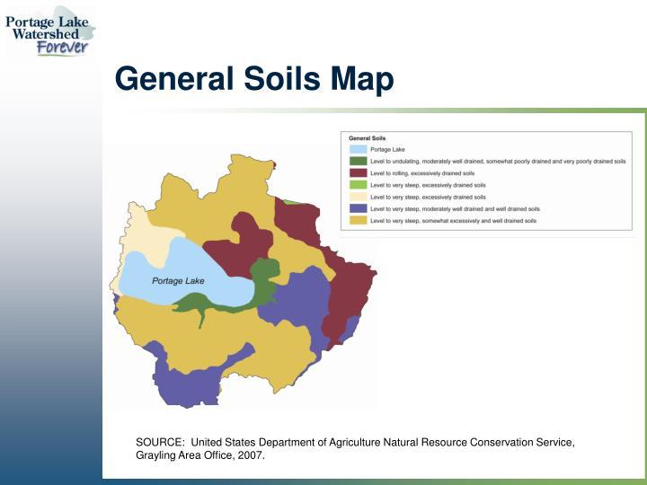 General Soils Map