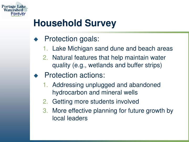 Household Survey