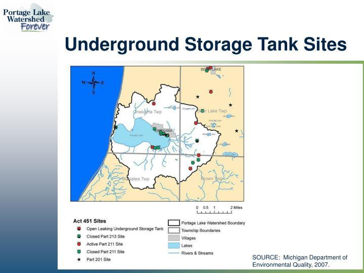 Underground Storage Tank Sites