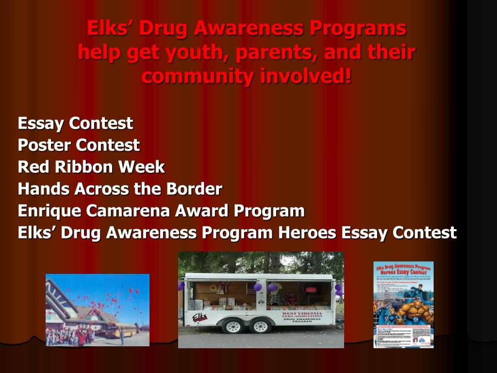 Elks' Drug Awareness Programs