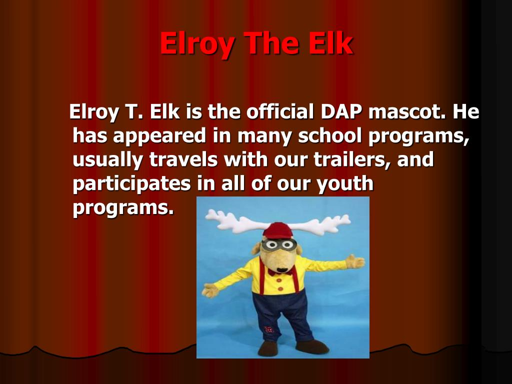 Elroy The Elk