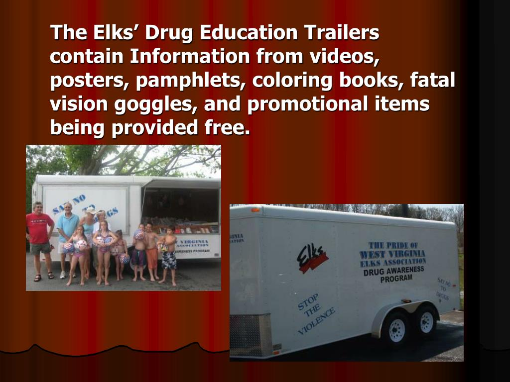 The Elks' Drug Education Trailers