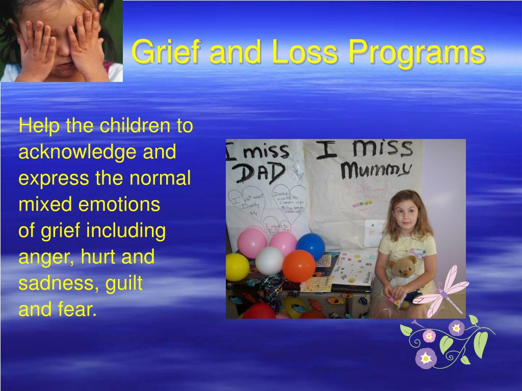 Grief and Loss Programs