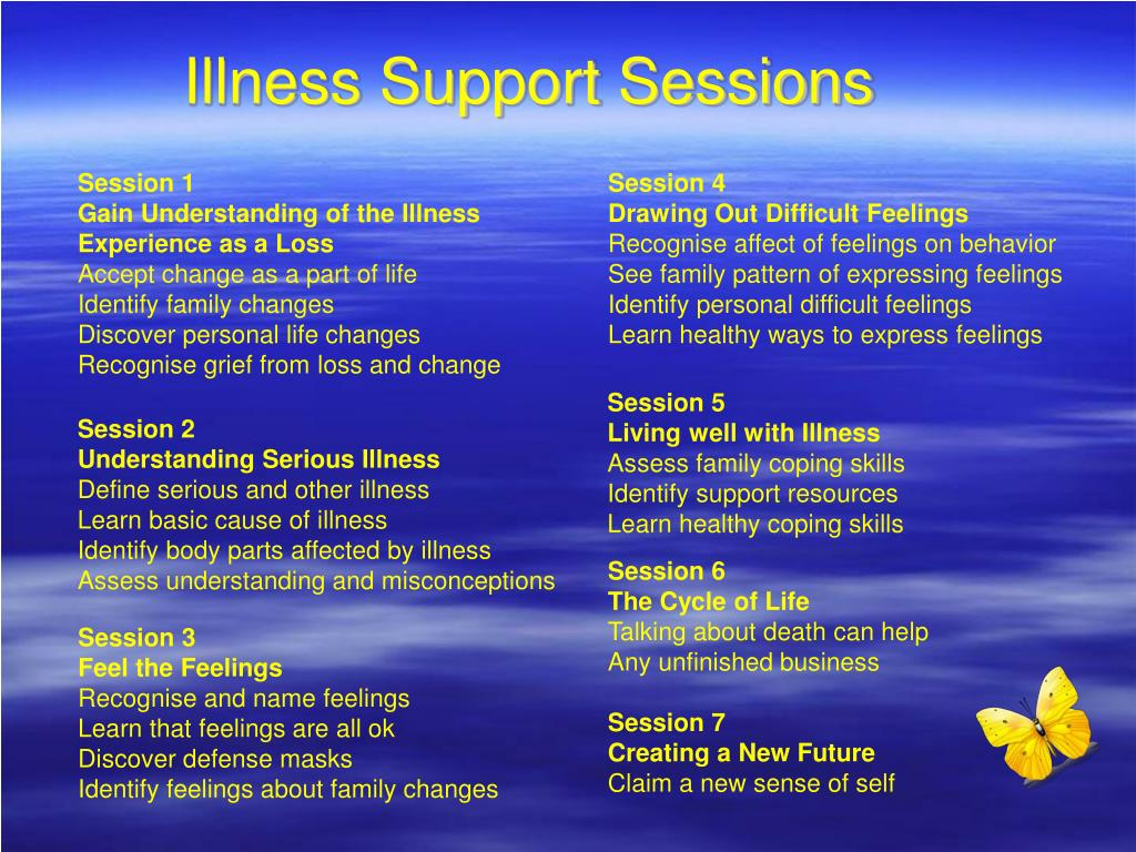 Illness Support Sessions