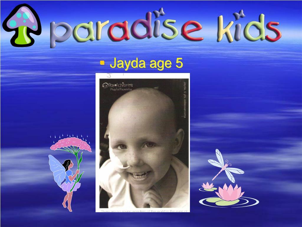 Jayda age 5