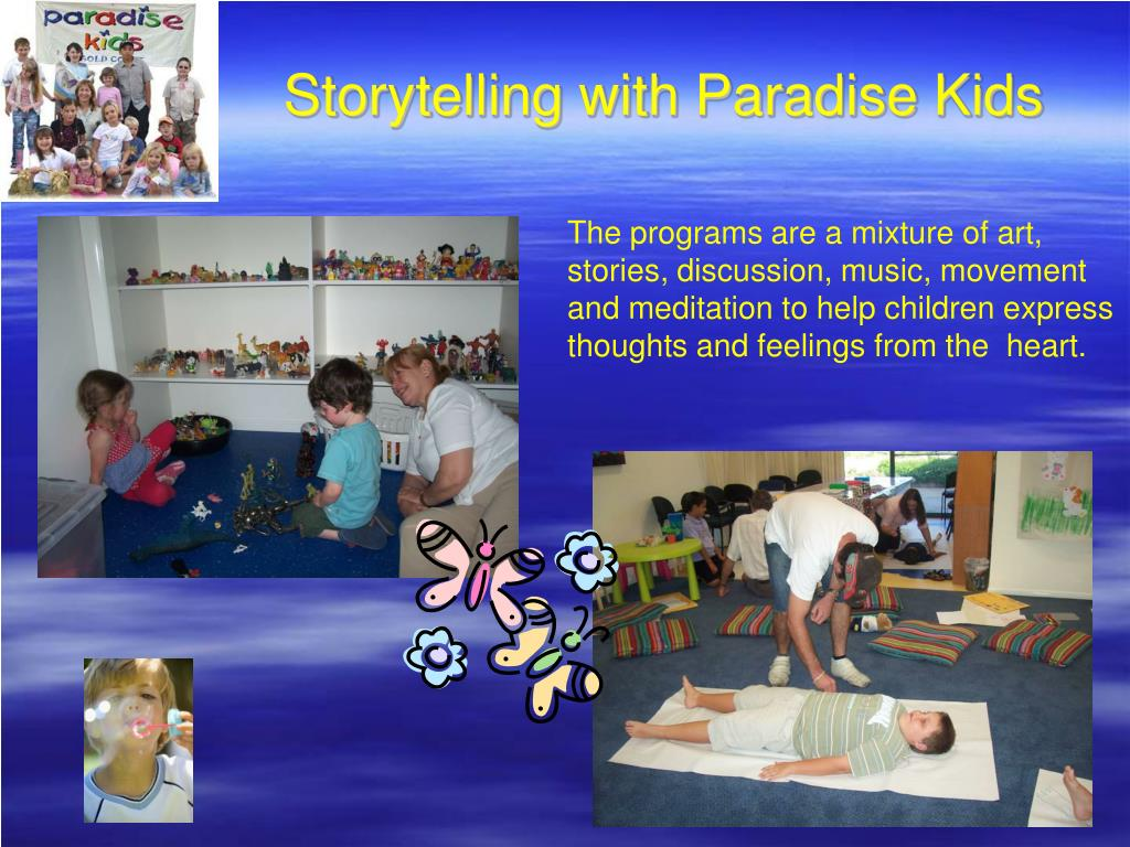 Storytelling with Paradise Kids