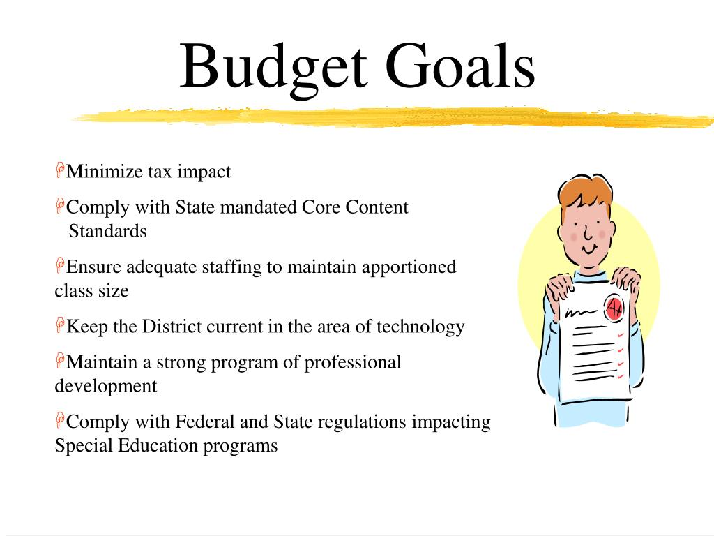 Budget Goals