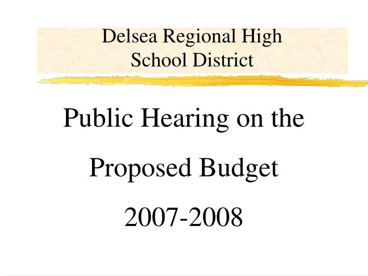 Delsea regional high school district