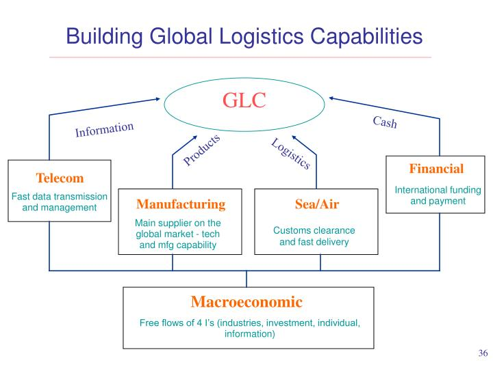 Building Global Logistics Capabilities