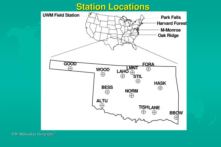 Station Locations