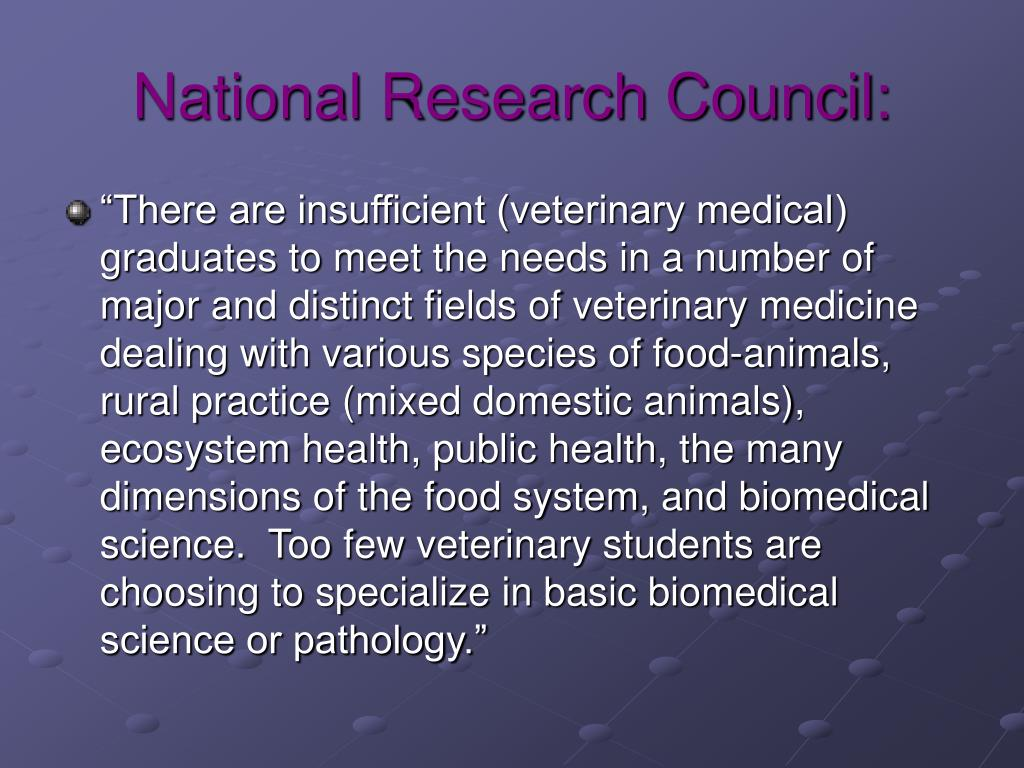 National Research Council: