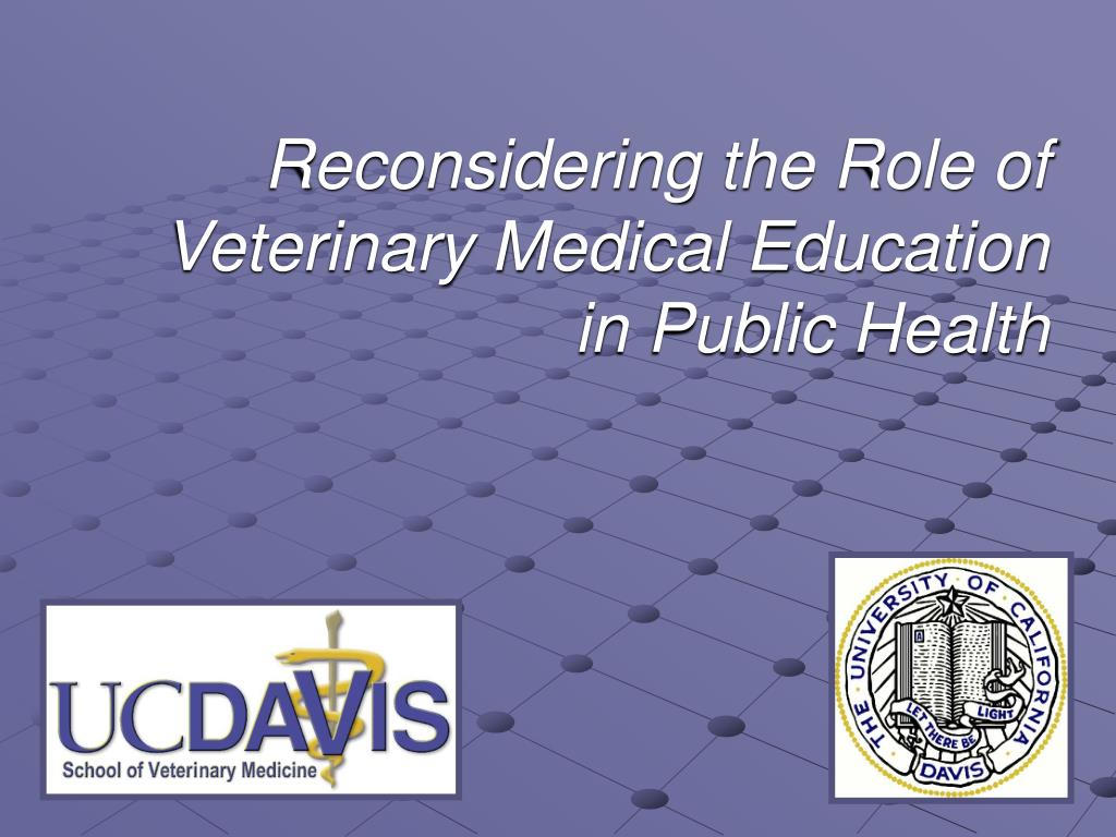 Reconsidering the Role of Veterinary Medical Education