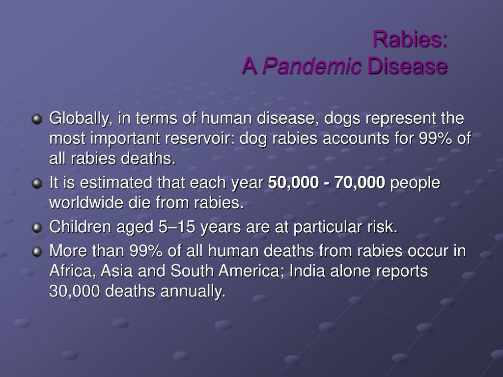 Rabies: