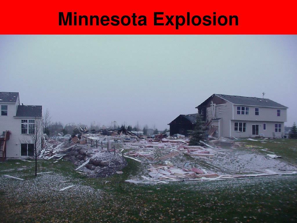 Minnesota Explosion