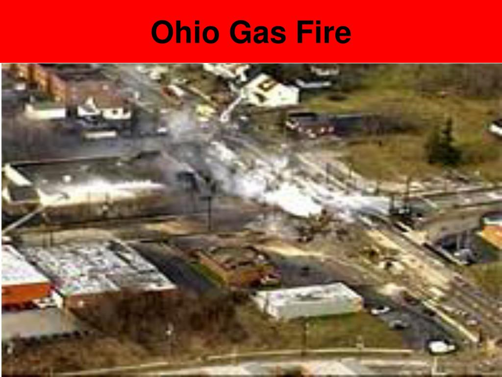 Ohio Gas Fire
