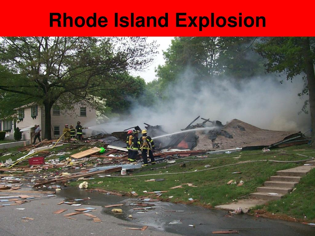 Rhode Island Explosion