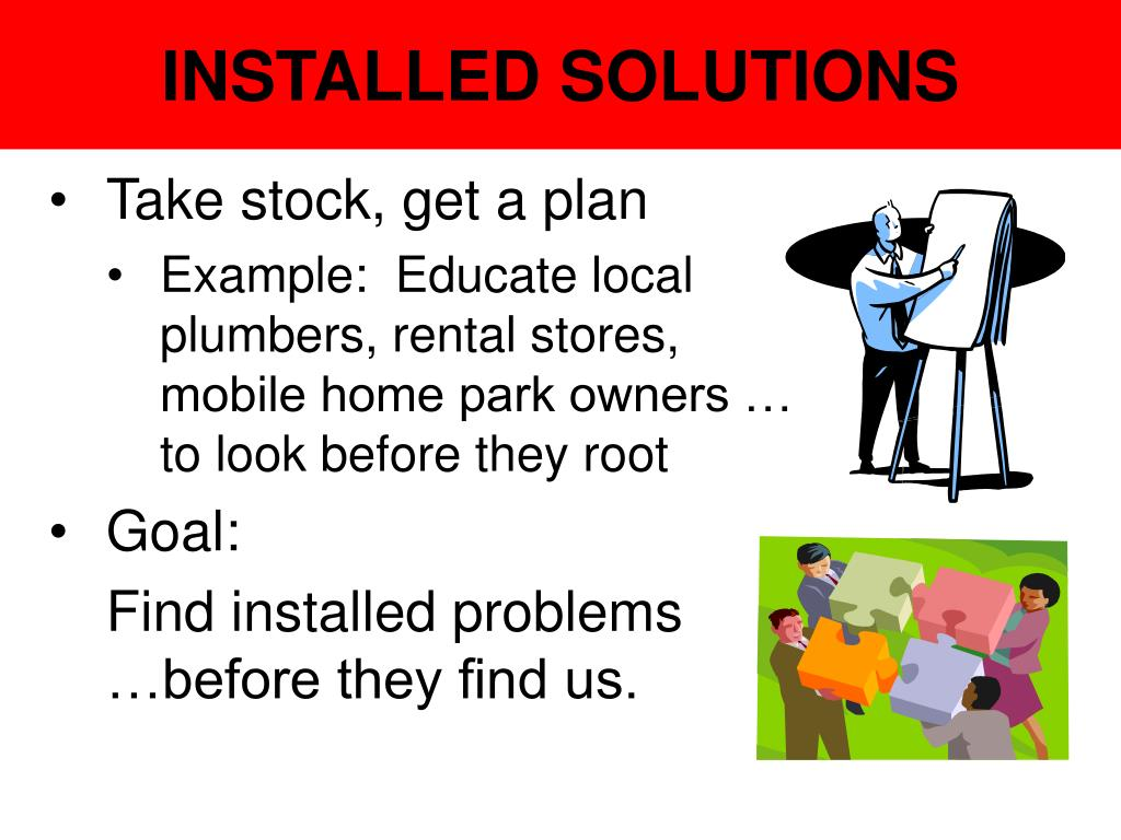 INSTALLED SOLUTIONS