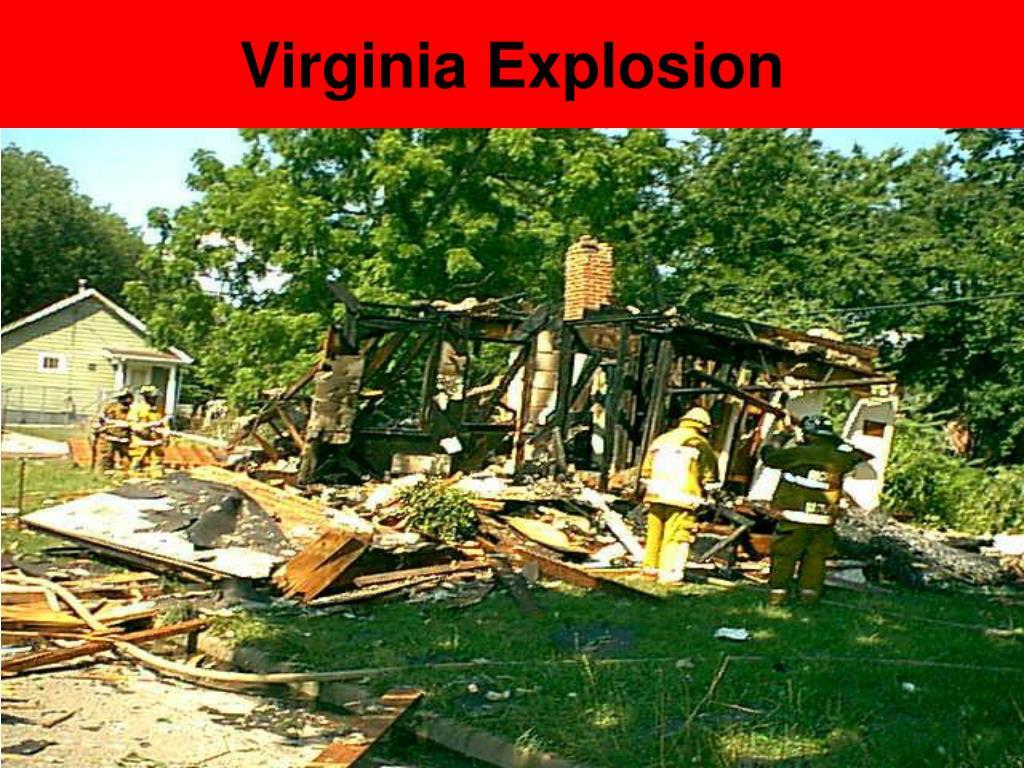 Virginia Explosion