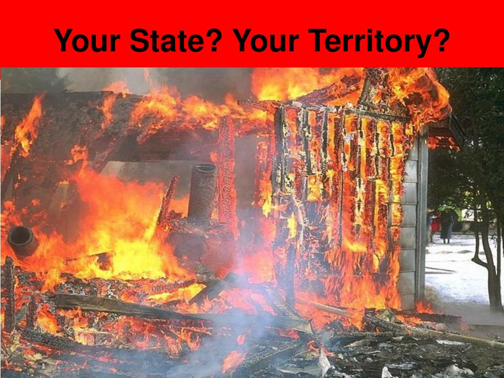 Your State? Your Territory?