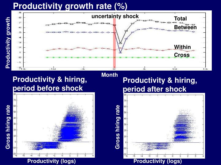 Productivity growth rate (%)