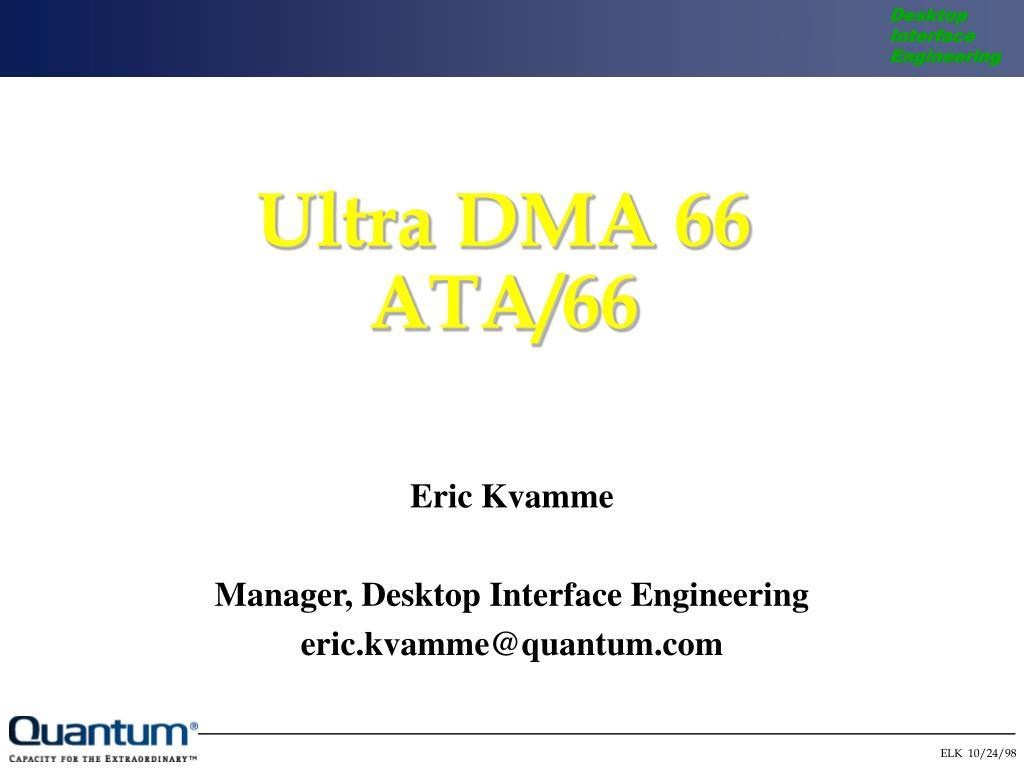 Ultra DMA 66