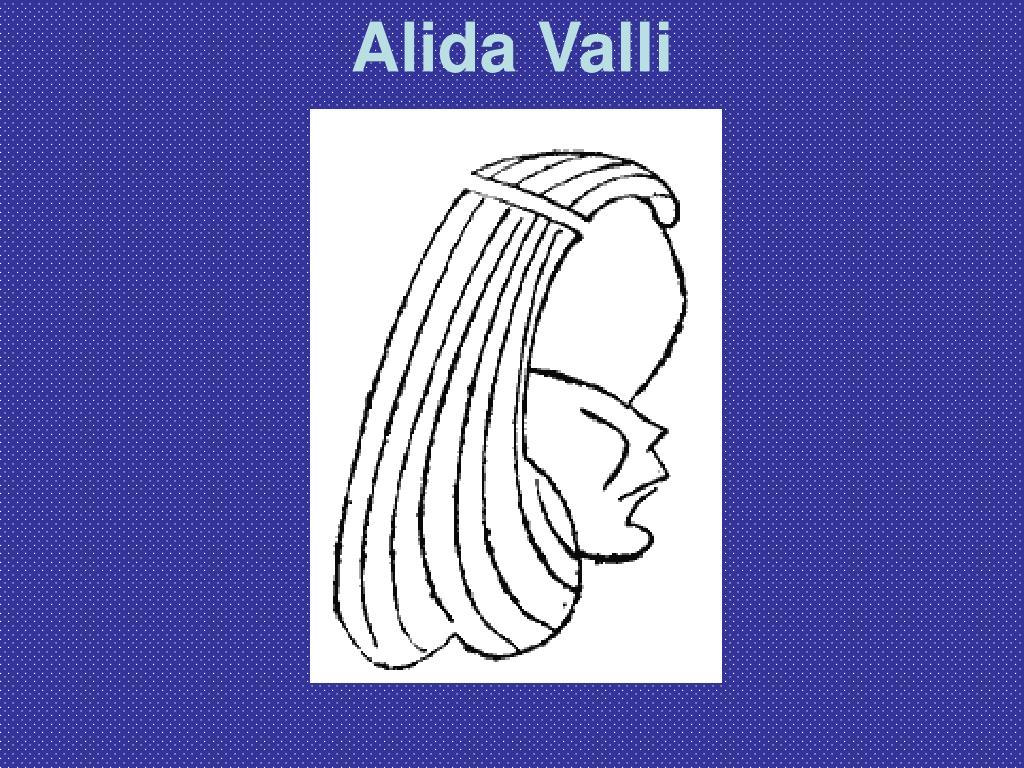 Alida Valli
