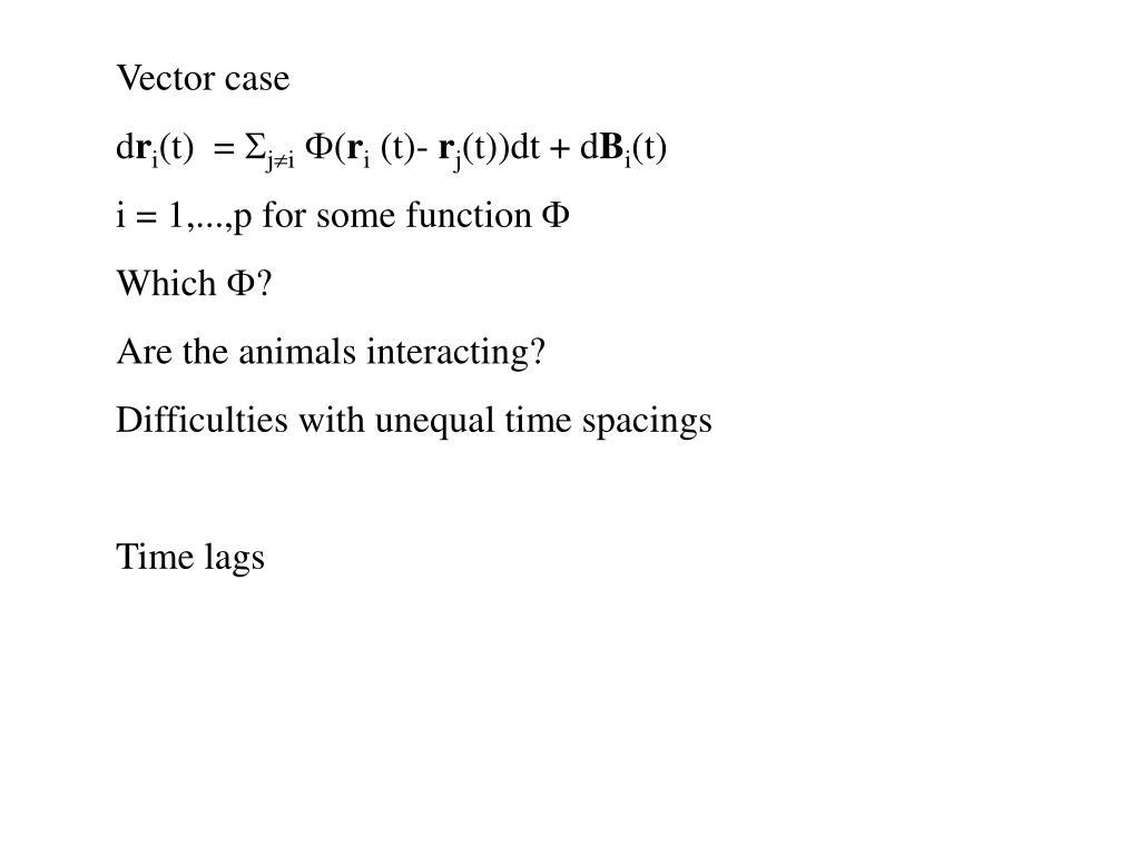 Vector case
