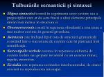 tulbur rile semanticii i sintaxei1