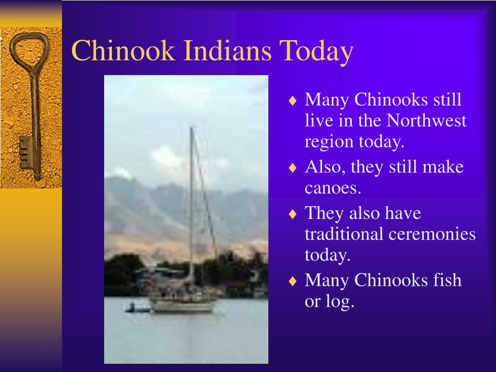 Chinook Indians Today
