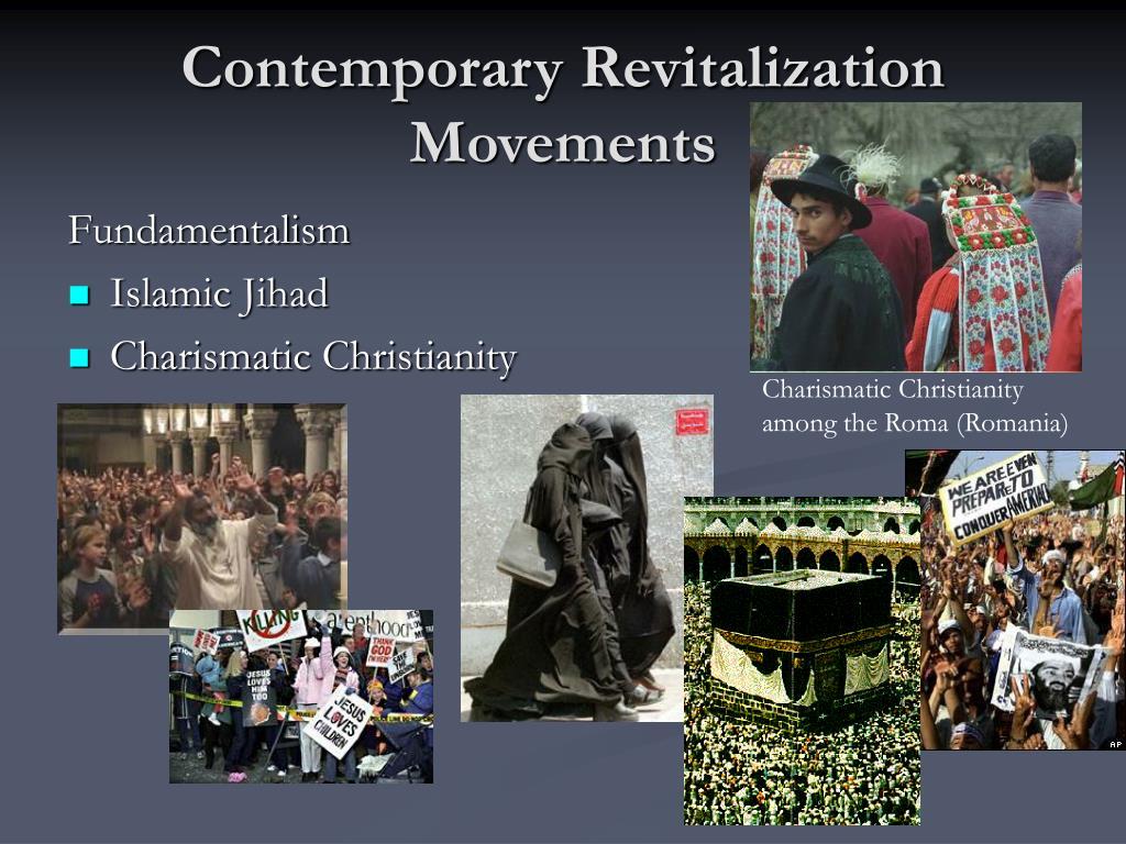 Contemporary Revitalization Movements