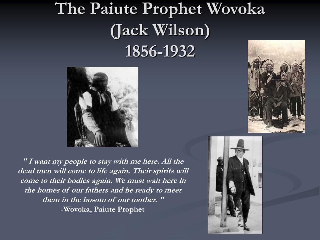 The Paiute Prophet Wovoka