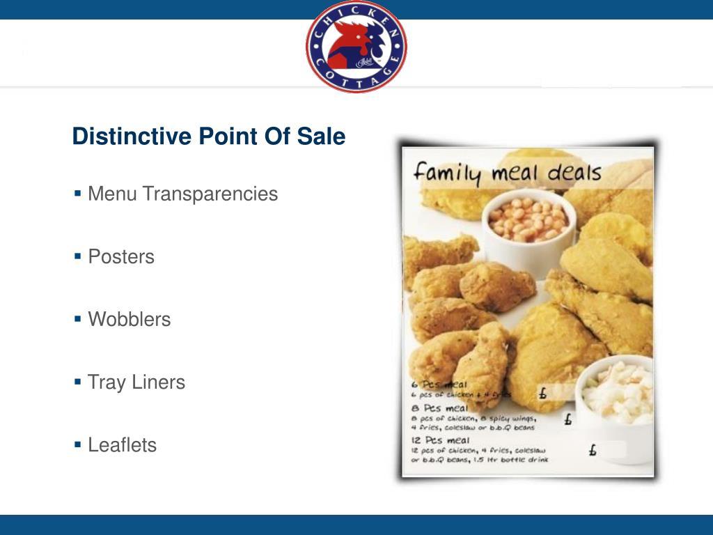 Distinctive Point Of Sale