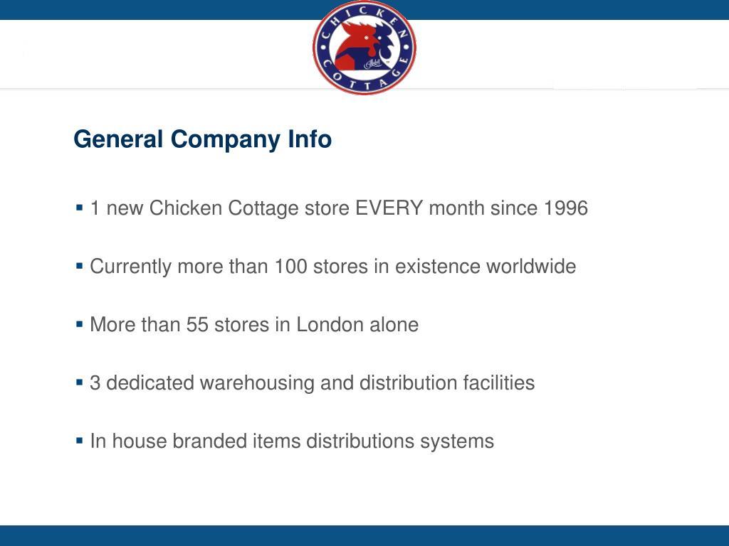 General Company Info
