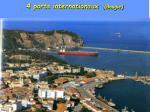 4 ports internationaux bougie