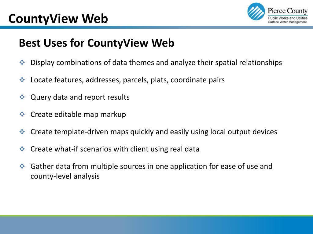 CountyView Web
