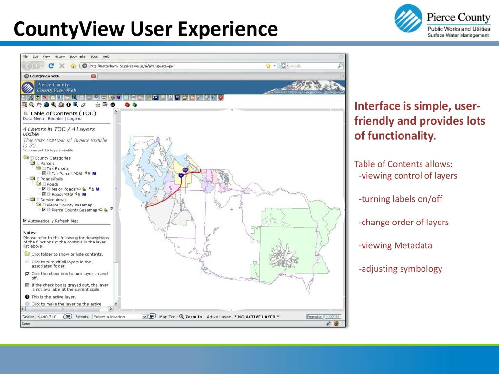 CountyView User Experience