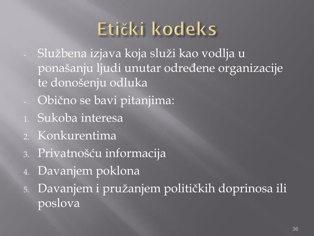 Etički kodeks