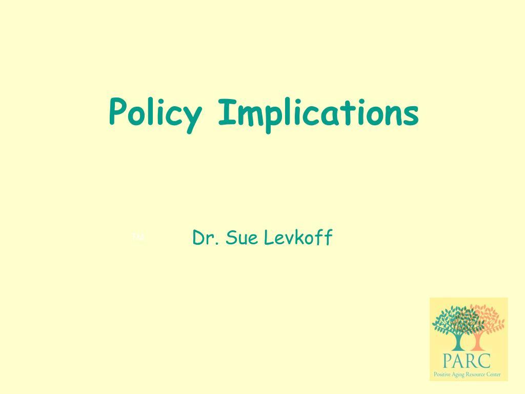 Dr. Sue Levkoff
