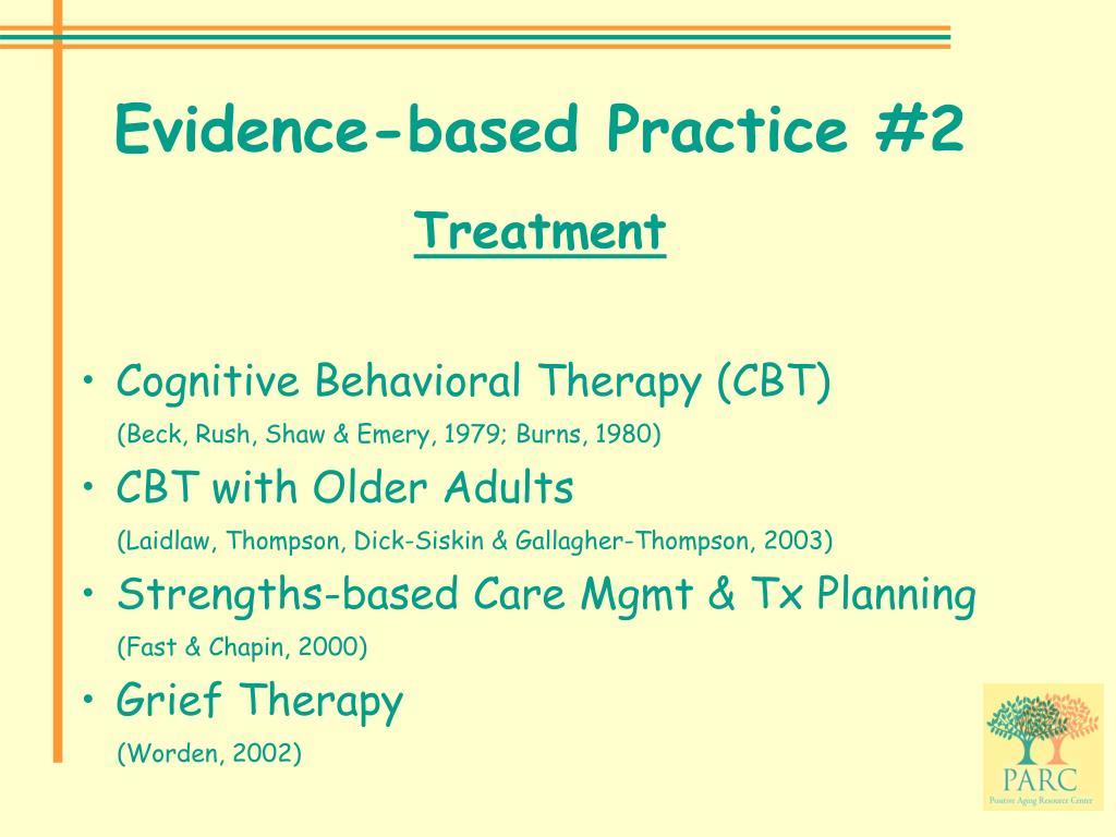 Evidence-based Practice #2