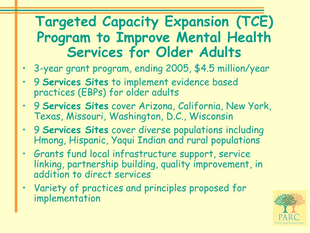 Targeted Capacity Expansion