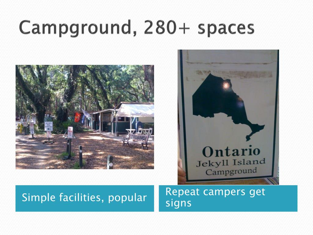 Campground, 280+ spaces