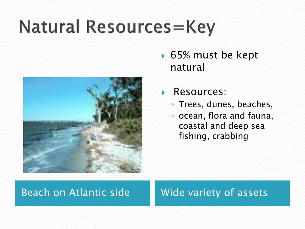 Natural Resources=Key