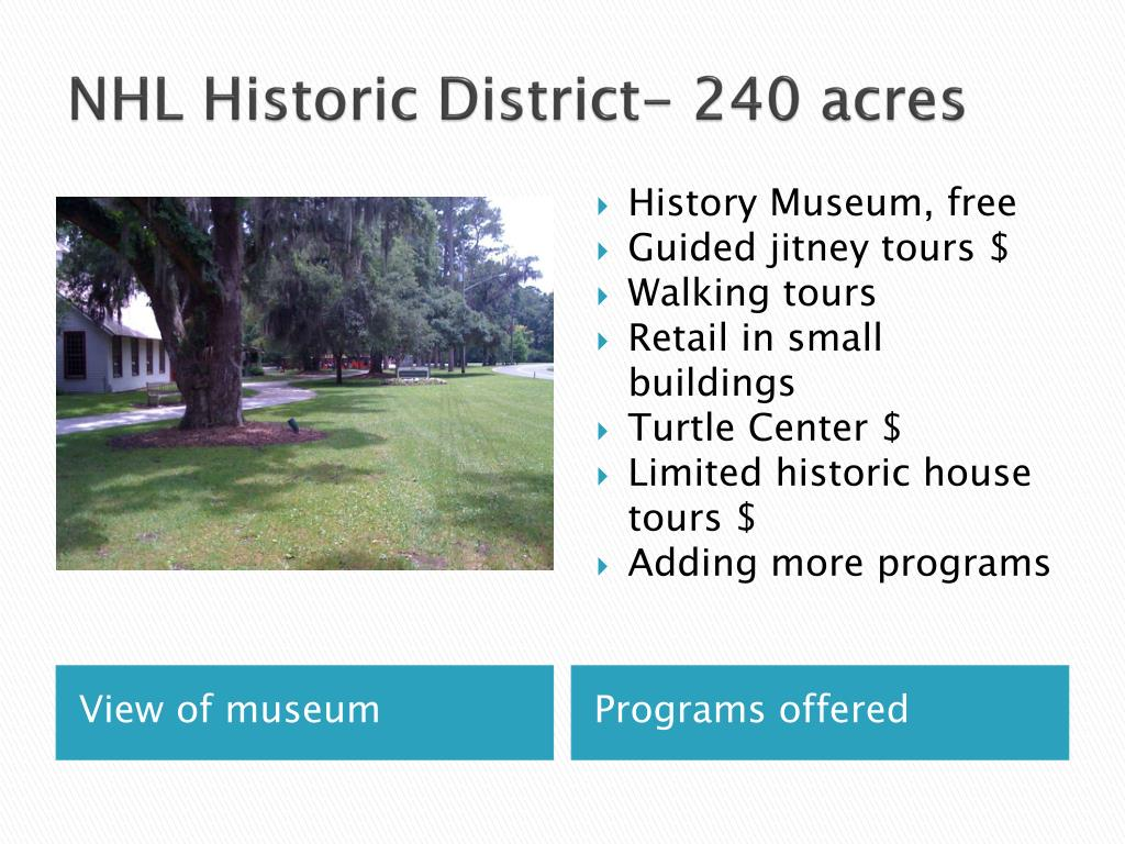 NHL Historic District- 240 acres