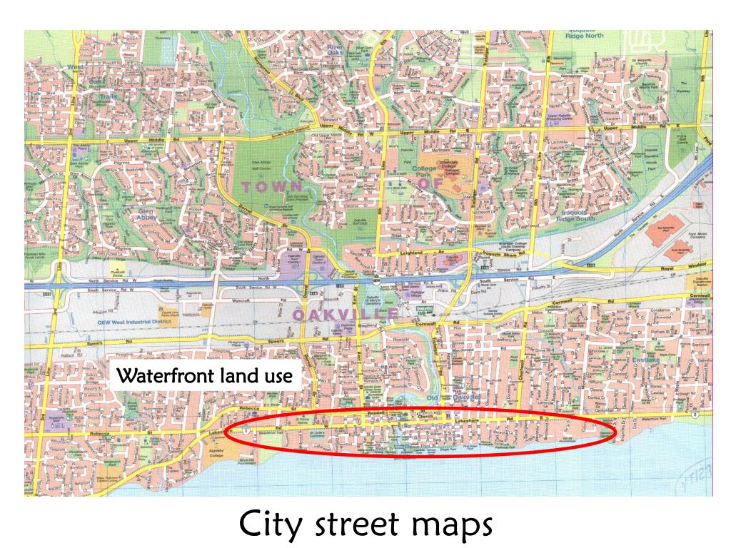 Waterfront land use