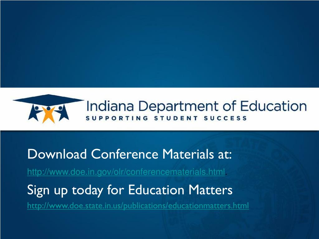 Download Conference Materials at: