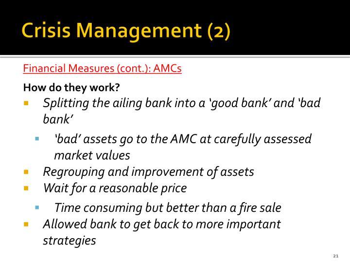 Crisis Management (2)