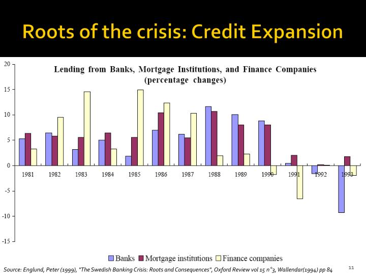 Roots of the crisis: Credit Expansion