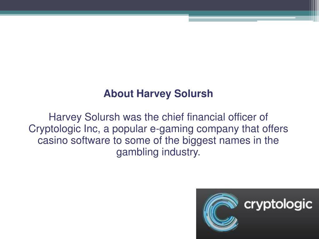 About Harvey Solursh
